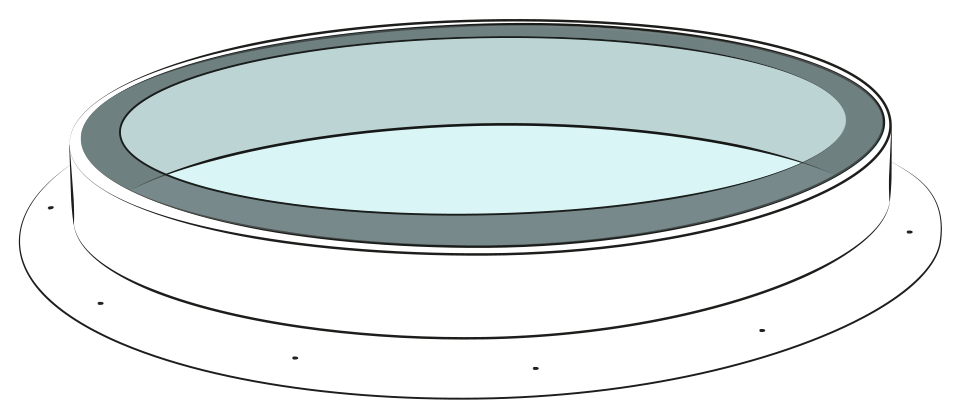 Glassfloor circle Illustration