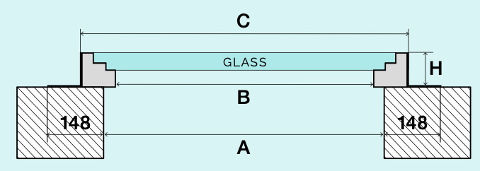 Schema Glassfloor Chrome
